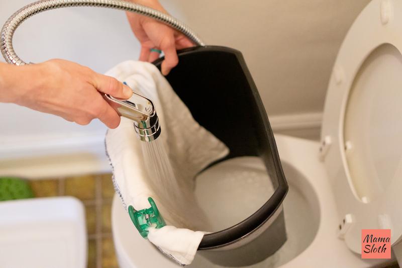 Mama Sloth Cloth Diaper Sprayer DIY Picture
