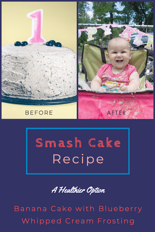 A Smash Cake that's Delicious and Healthy