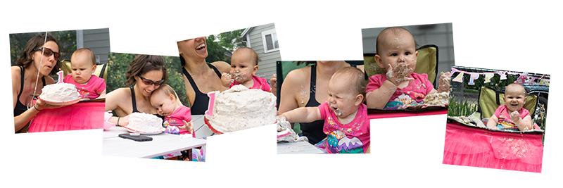 Mama Sloth Smash Cake Fun